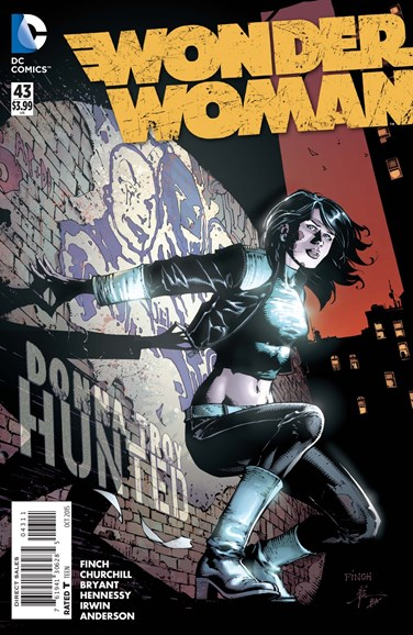 Wonder Woman Cover - 10/1/2015