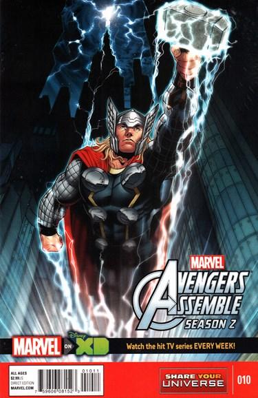 Marvel Universe Avengers Assemble Cover - 10/1/2015
