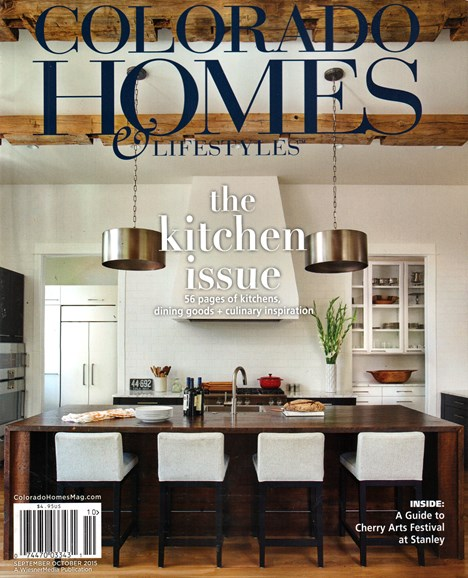 Colorado Homes & Lifestyles Cover - 9/1/2015