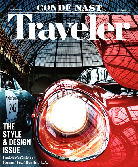 Condé Nast Traveler Cover - 9/1/2015