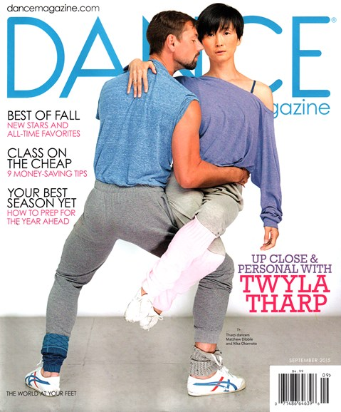 Dance Magazine Cover - 9/1/2015