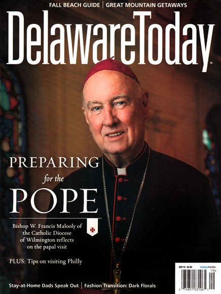 Delaware Today Cover - 9/1/2015