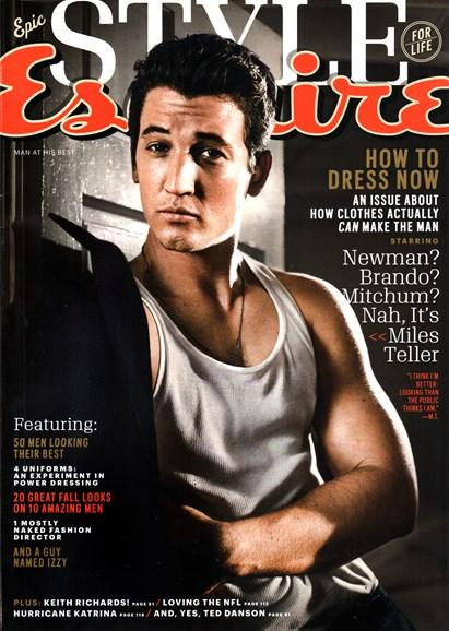 Esquire Cover - 9/1/2015