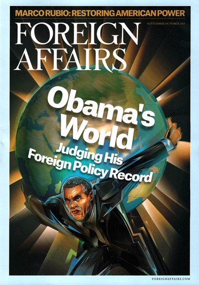 Foreign Affairs Cover - 9/1/2015