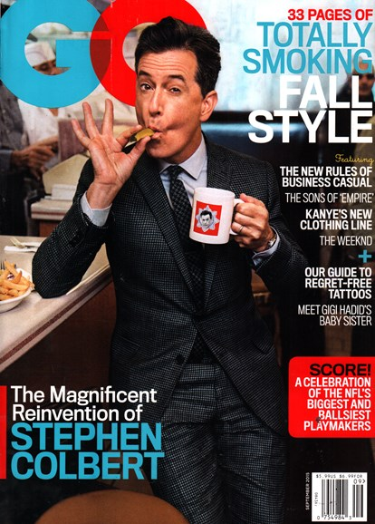 Gentlemen's Quarterly - GQ Cover - 9/1/2015
