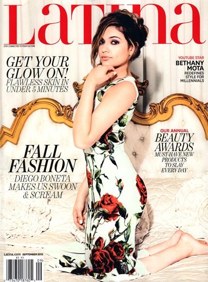 Latina Cover - 9/1/2015