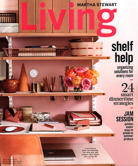 Martha Stewart Living Cover - 9/1/2015