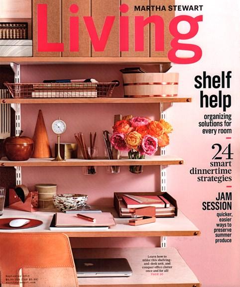 Martha Stewart Living Cover - 9/1/2015