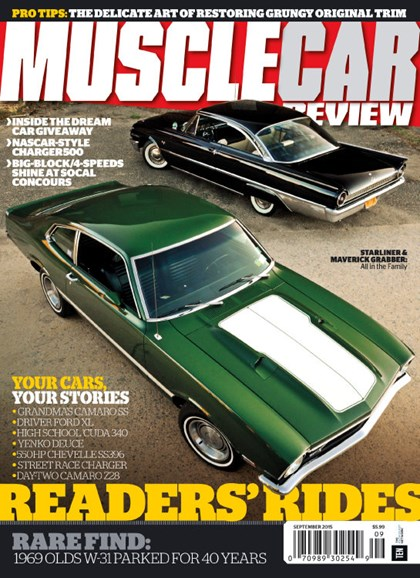 Muscle Car Review Cover - 9/1/2015