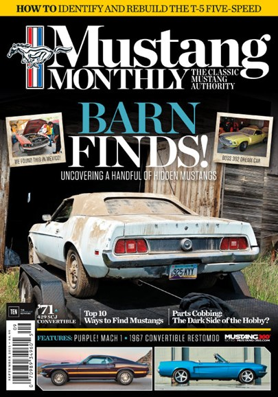 Mustang Monthly Cover - 9/1/2015