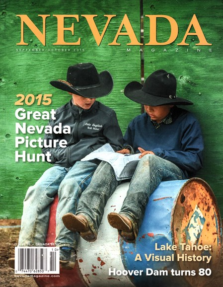 Nevada Magazine Cover - 9/1/2015