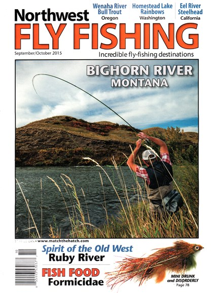 Northwest Fly Fishing Cover - 9/1/2015