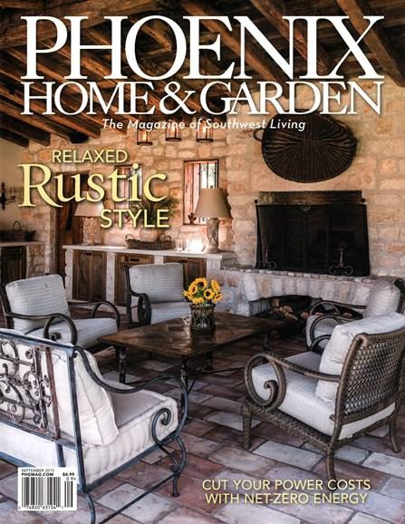 Phoenix Home & Garden Cover - 9/1/2015