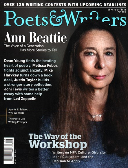 Poets & Writers Cover - 9/1/2015
