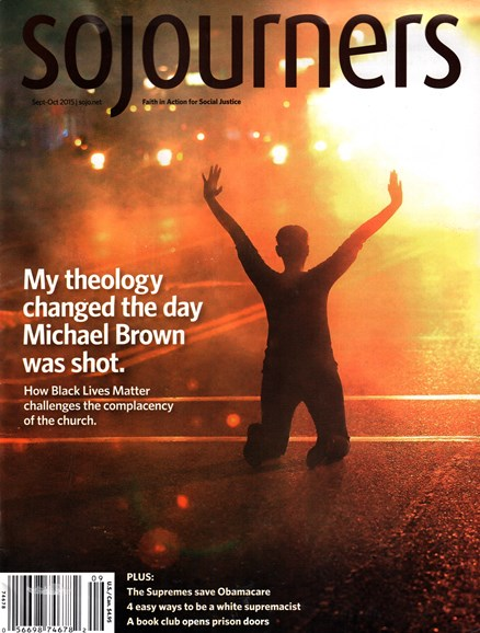 Sojourners Cover - 9/1/2015