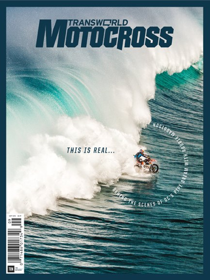 Transworld Motocross Cover - 9/1/2015