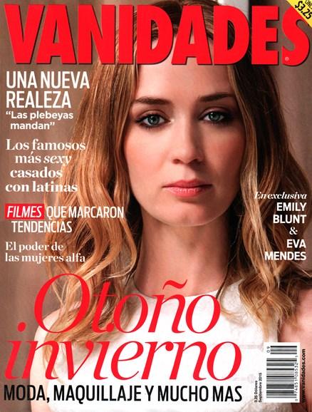 Vanidades Cover - 9/1/2015