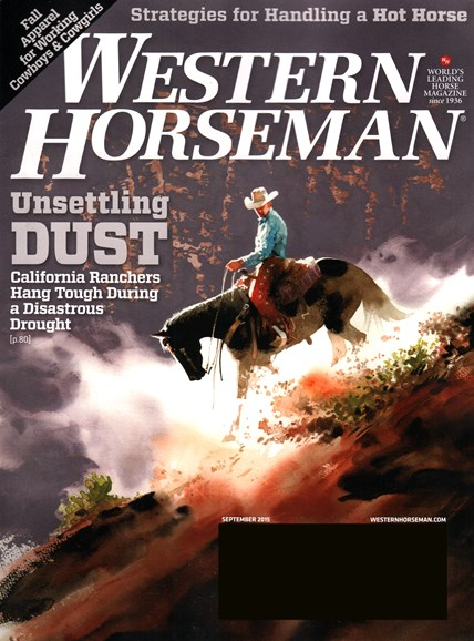 Western Horseman Cover - 9/1/2015