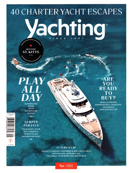 Yachting Cover - 9/1/2015
