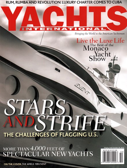 Yachts International Cover - 9/1/2015