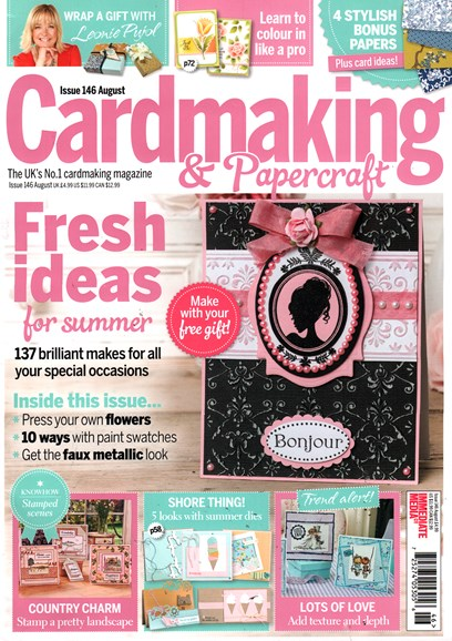 CardMaking & PaperCrafts Cover - 8/1/2015