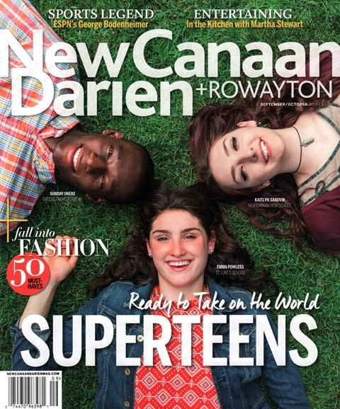 New Canaan-Darien Cover - 9/1/2015