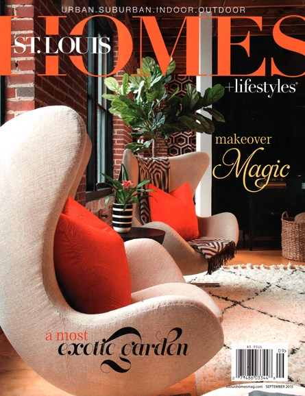 St. Louis Homes & Lifestyles Cover - 9/1/2015