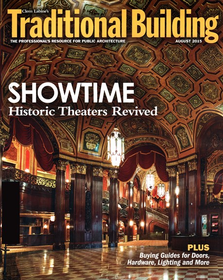 Traditional Building Cover - 8/1/2015
