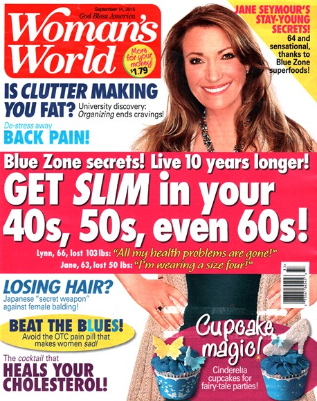 Woman's World Cover - 9/14/2015