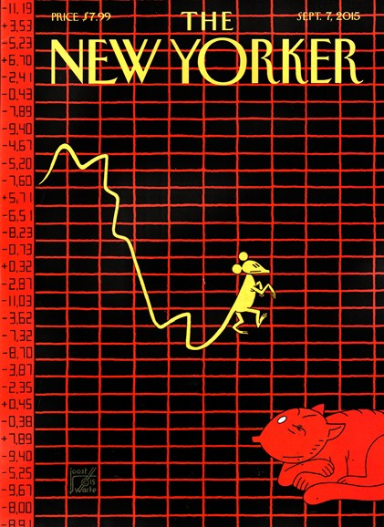 The New Yorker Cover - 9/7/2015