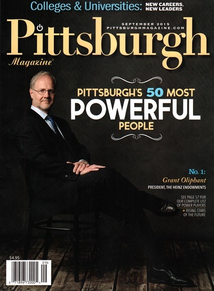 Pittsburgh Magazine Cover - 9/1/2015