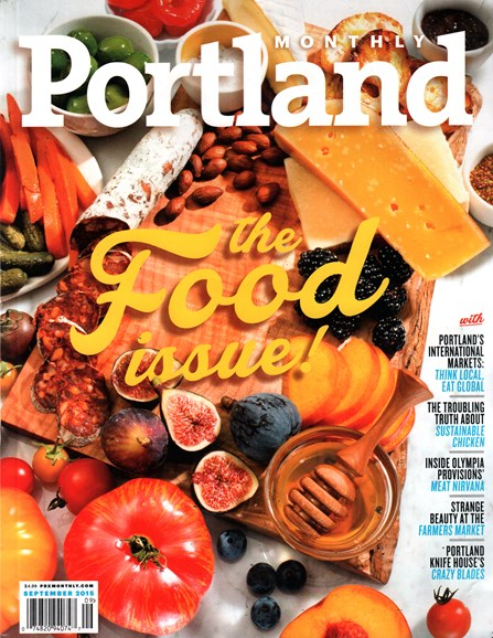 Portland Monthly Cover - 9/1/2015