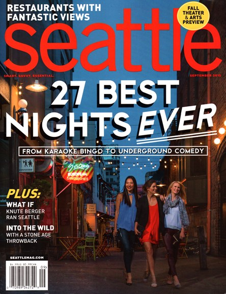 Seattle Magazine Cover - 9/1/2015