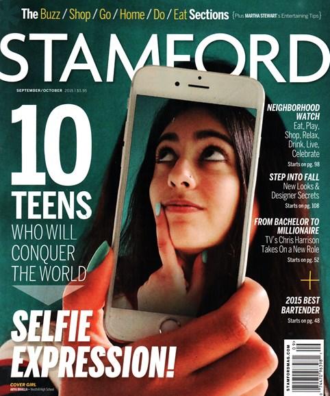 Stamford Magazine Cover - 9/1/2015