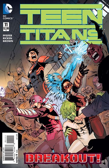 Teen Titans Cover - 10/1/2015