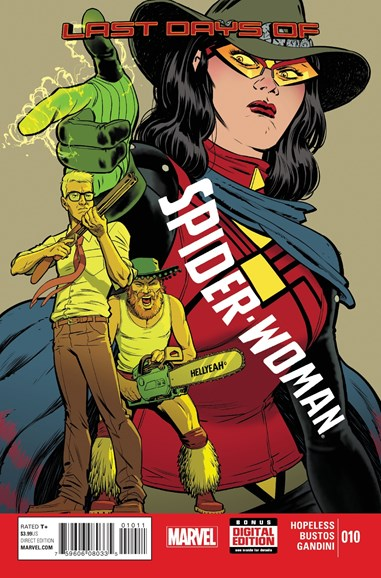 Spider-Woman Cover - 10/1/2015