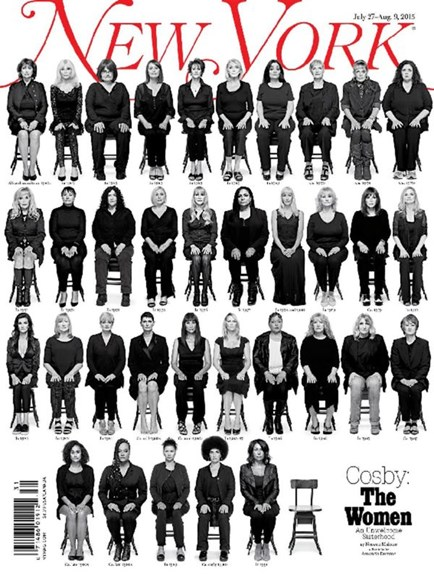 New York Magazine Cover - 7/27/2015