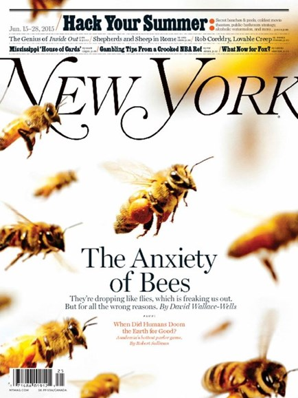 New York Magazine Cover - 6/15/2015