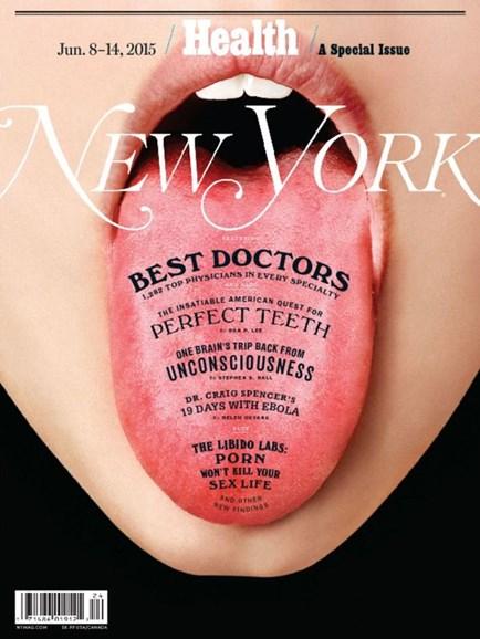 New York Magazine Cover - 6/8/2015