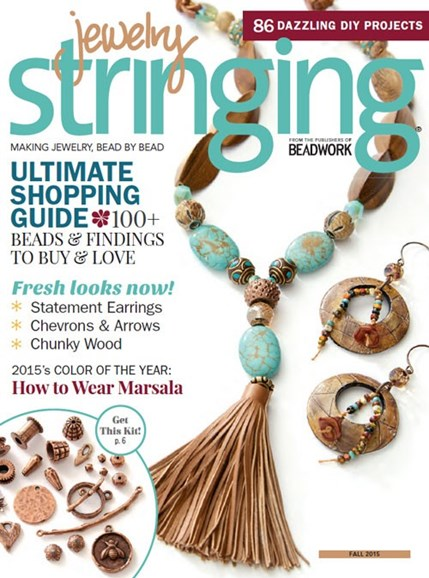 Jewelry Stringing Cover - 9/1/2015