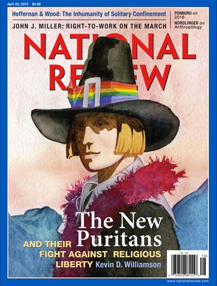 National Review Cover - 4/20/2015