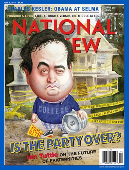 National Review Cover - 4/6/2015