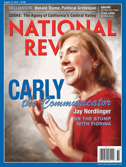 National Review Cover - 8/10/2015