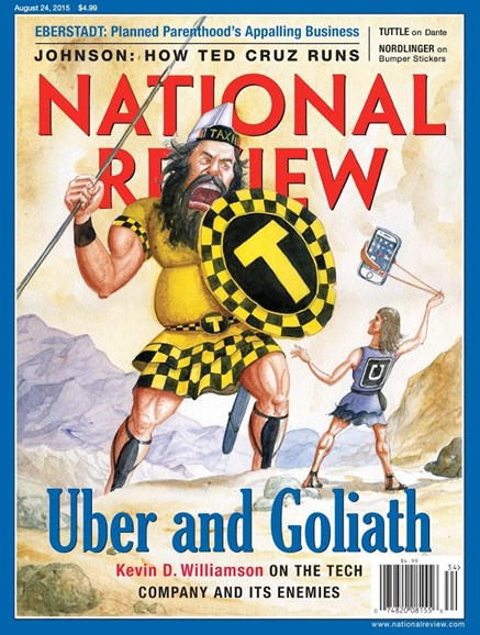 National Review Cover - 8/24/2015
