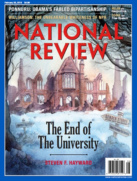 National Review Cover - 2/23/2015