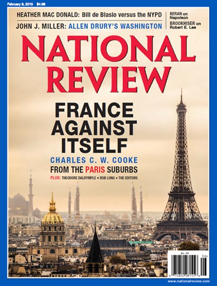 National Review Cover - 2/9/2015