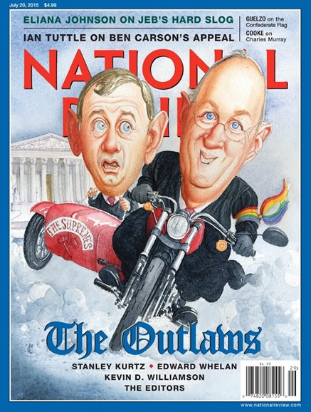 National Review Cover - 7/20/2015