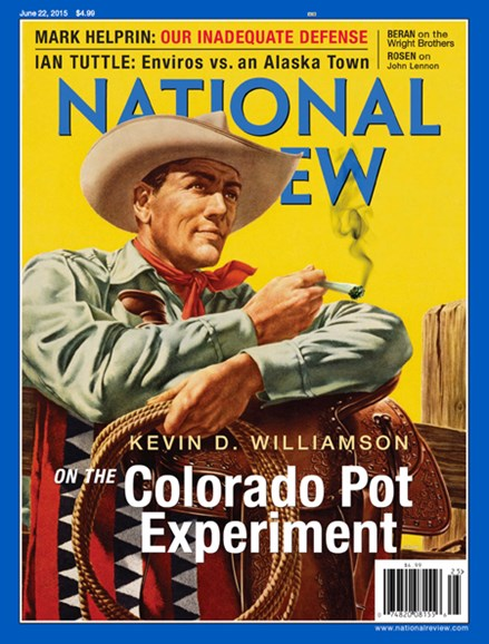 National Review Cover - 6/22/2015