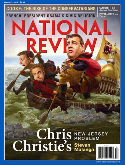 National Review Cover - 3/23/2015