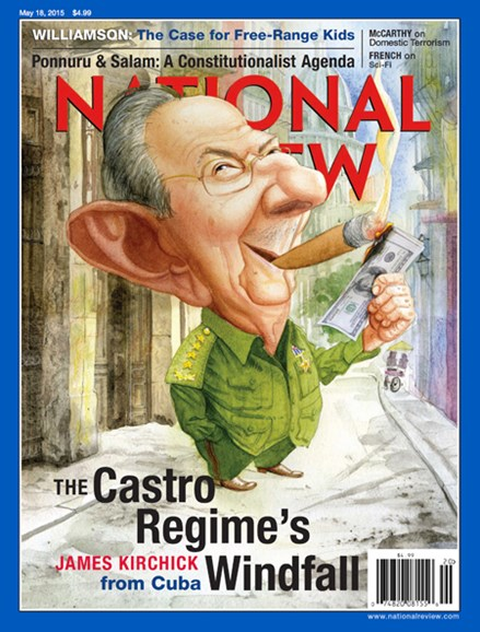National Review Cover - 5/18/2015